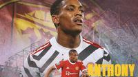 Manchester United - Anthony Martial (Bola.com/Adreanus Titus)