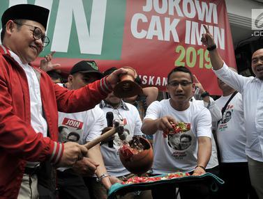 Dukung Jokowi di Pilpres 2019, Cak Imin Resmikan posko JOIN