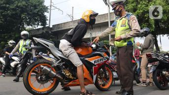 Operasi Patuh Jaya, Polisi Sasar Knalpot Bising hingga Balap Liar