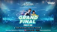 GoPay Arena Championship Grand Final Free Fire. (Sumber: Vidio)