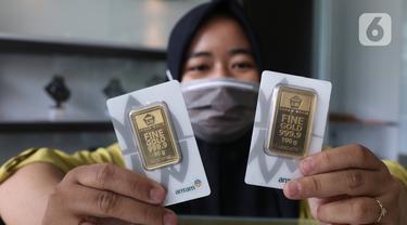 Harga Emas Pegadaian Naik Rp 4.000