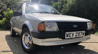 Ford Escort bekas milik Putri Diana tengah mencari pemilik baru