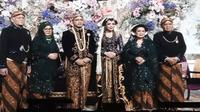 Resepsi pernikahan cucu Soeharto, Danny Rukmana, dengan Raiyah. (dok. screenshot YouTube/Cendana TV)