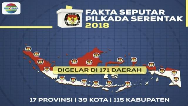 Merujuk data resmi KPU, Jawa Barat merupakan daerah dengan jumlah pemilih terbanyak, yakni lebih dari 31 juta orang.