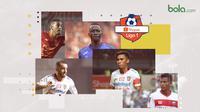 Gelandang Terbaik Liga 1 2019. (Bola.com/Dody Iryawan)