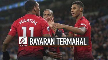 Manchester United habiskan 2,1 triliun rupiah untuk gaji para pemainnya.