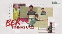 Bek Timnas Indonesia di Piala AFF U-22 2019. (Bola.com/Dody Iryawan)