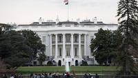 Foto 11 Maret 2020, Gedung Putih di Washington DC, Amerika Serikat (AS). Presiden AS Donald Trump pada Rabu (11/3) mengatakan negaranya akan menangguhkan semua perjalanan dari negara-negara Eropa, kecuali Inggris, selama 30 hari dalam upaya memerangi virus corona Covid-19. (Xinhua/Liu Jie)
