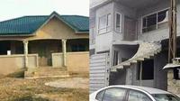6 Desain Rumah Salah Pasang Tangga Ini Bikin Sakit Mata (sumber: Twitter/duniakuli Reddit)