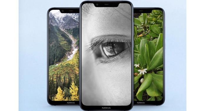Smartphone diduga merupakan Nokia 8.1 (Foto: Phone Arena)