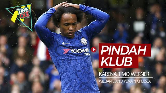Berita video 4 pemain Chelsea, termasuk Willian, yang berpeluang pindah klub karena kehadiran Timo Werner.
