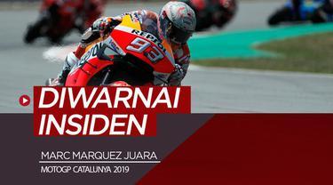 Berita video highlights balapan MotoGP Catalunya 2019, di mana Marc Marquez juara. Di balapan ini ada juga insiden Jorge Lorenzo yang jatuh dan Valentino Rossi kena imbasnya.