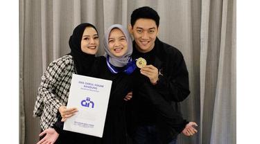 7 Potret Citra Monica saat Pakai Hijab, Curi Perhatian
