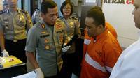 AS, warga Magelang, Jawa Tengah jadi tersangka penipuan dengan modus menukar mata uang asing ke korbannya (Liputan6.com/Zainul Arifin)