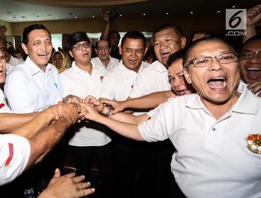 Purnawirawan TNI Cakra19 Dukung Jokowi - Ma'ruf di Pilpres 2019