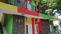 Mes Persis Solo yang terletak di kawasan Karangasem, Kota Surakarta. (Bola.com/Vincentius Atmaja)