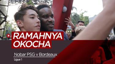 Berita video aktivitas Jay-Jay Okocha saat nonton bareng PSG Vs Bordeaux di Kemang Village, Sabtu (9/2/2019)