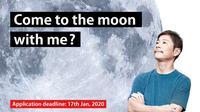 Yusaku Maezawa, miliarder Jepang mencari pasangan hidup yang bisa menemani perjalanannya ke bulan.(Source: Twitter/@yousuck2020)