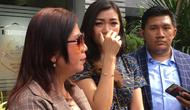 Polda Metro Jaya memeriksa mantan pramugari Garuda Indonesia, Cyndyana Lorens. (Merdeka/Ronald)