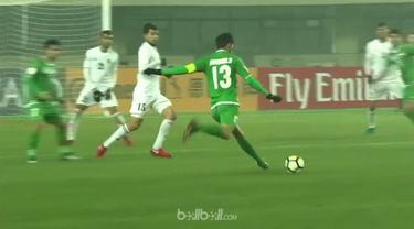 Irak kalahkan Jordania 1-0 finish sebagai juara Grup C dan lolos ke babak perempat final Piala Asia U-23.  Irak mendominasi laga s...