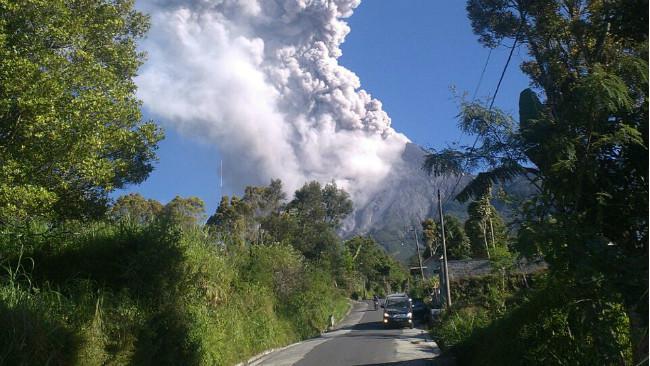 Erupsi Gunung Merapi. (Liputan6.com/Istimewa)