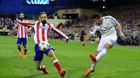 Pemegang nomor punggung 10 di Real Madrid ini kesulitan untuk mengamankan tempat di tim inti besutan Zinedine Zidane. (AFP/Gerard Julien)