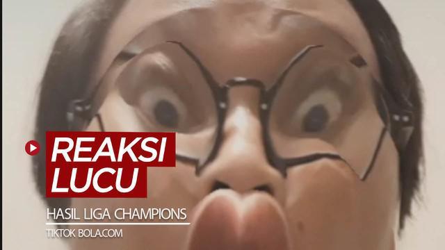 Berita video TikTok Bola.com kali ini menampilkan reaksi lucu video editor Oki Prabhowo melihat skor laga perempat final Liga Champions musim ini, termasuk hasil Barcelona dan Manchester City.