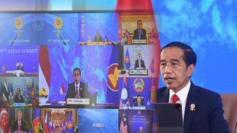 Jokowi Sampaikan 3 Upaya Pemulihan Ekonomi di KTT IMT-GT