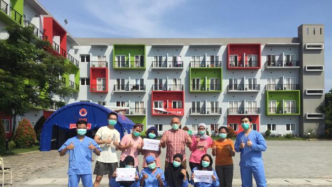 ATIC 23 Pasien Corona yang Dirawat di Rumah Singgah Griya Anabatic, Sembuh - News Liputan6.com