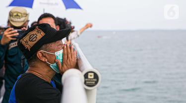 Doa Bersama dan Tabur Bunga Jatuhnya Pesawat Sriwijaya Air SJ 182