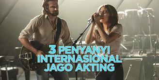Siapa saja penyanyi internasional yang pernah main film layarlebar? Yuk, cek video di atas!