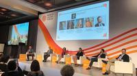 Para pembicara di ajang World Umami Forum di New York, Amerika Serikat (Foto: dok. Ajinomoto)