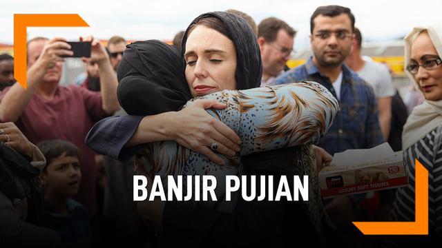 Sosok Perdana Menteri Wanita Selandia Baru Yang Banjir Pujian