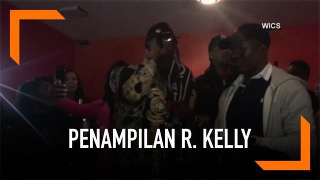 R. Kelly kembali tampil di Illinois, AS untuk menghibur penggemarnya.