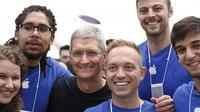 Situs pencarian kerja Glasdoor merilis informasi terbaru terkait rata-rata besaran gaji karyawan Apple.
