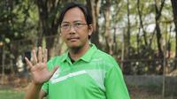 Sekretaris Persebaya Surabaya, Rahmad Sumanjaya mengecam rencana Tim Transisi menggelar Kongres Luar Biasa PSSI. Hal ini disebutnya telah menyalahi aturan. (Bola.com/Zaidan Nazarul)