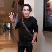 Di film '3' (Alif Lam Mim) arahan sutradara Anggy Umbara ini Agus Kuncoro berperan menjadi orang yang religius. (Galih W. Satria/Bintang.com)