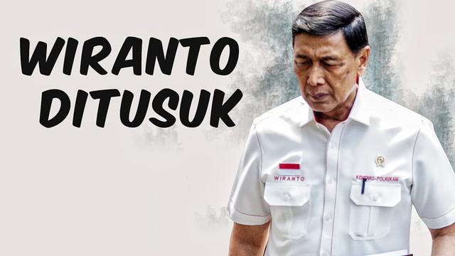 Video Top 3 hari ini ada berita terkait Menko Polhukam Wiranto diserang orang tidak dikenal, Arteria Dahlan jadi trending topic, dan jelang pelantikan presiden KSAD sebut situasi baik.