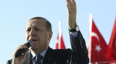 Presiden Turki Recep Tayyip Erdogan (AP/Yasin Bulbul)