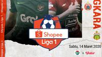 Shopee Liga 1 - Bhayangkara FC Vs Persija Jakarta - Duel Pemain (Bola.com/Adreanus Titus)