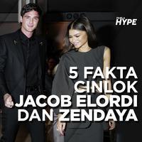 5 Fakta Cinlok Jacob Elordi dan Zendaya