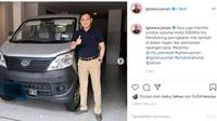 Ignasius Jonan Juga Sudah Beli Esemka Bima (Instagram)