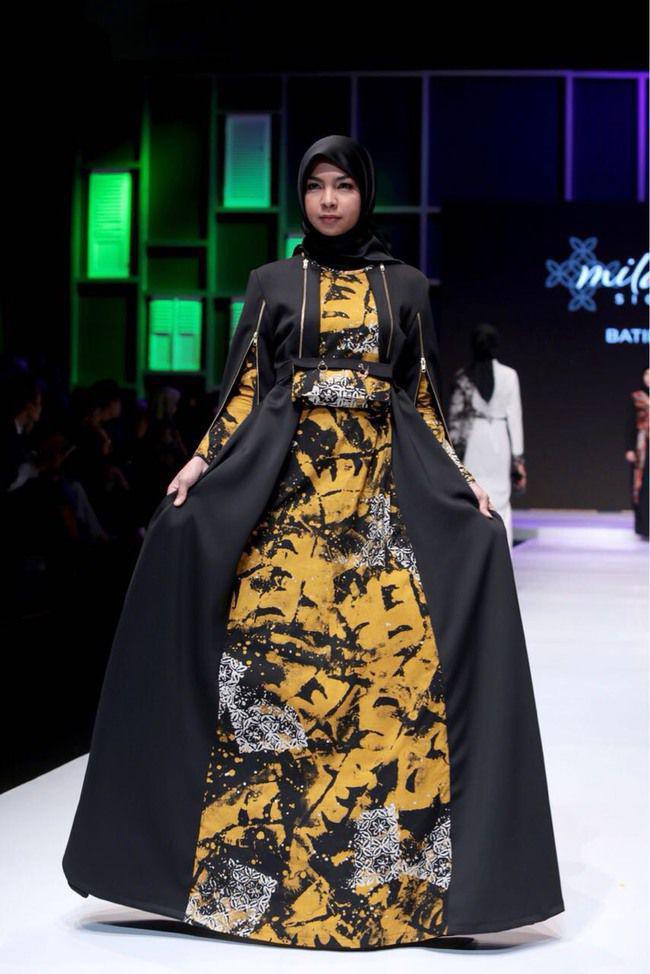 Indahnya Perpaduan Batik Dan Busana Muslim Karya Milameilia