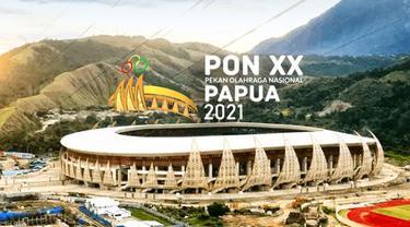 Banner Infografis Perhelatan Akbar PON XX 2021 di Bumi Cenderawasih. (Foto: Dok. Biro Komunikasi Kementerian PUPR)