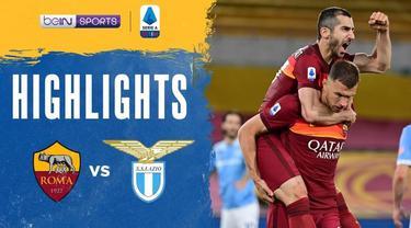 Berita video highlights laga AS Roma menang 2-0 atas Lazio pada pekan ke-37 Liga Italia 2020/2021, Minggu (16/5/2021) dinihari WIB.