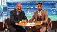 Bocah Indonesia keturunan Batak, Joseph Simatupang Ferguson, mendapatkan kontrak untuk bermain di Blackburn Rovers U-18. (Instagram/@josephsimatupangferguson)