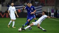 Kroasia Vs Yunani (AFP/ANGELOS TZORTZINIS)