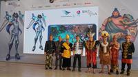 Garuda Indonesia perkenalkan karakter game online yang pertama dari Indonesia yang berjudul LOKAPALA: Saga of The Six Realms.