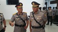 Kombes Argo Yuwono resmi menjabat sebagai Karo Penmas Humas Mabes Polri. (Nanda Perdana Putra/Liputan6.com)