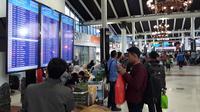 Selama Musim Mudik, Penumpang di Bandara Soetta Capai 2.8 Juta Orang. (Liputan6.com/Pramita Tristiawati)